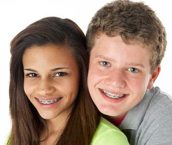 Adolescent orthodontic care.